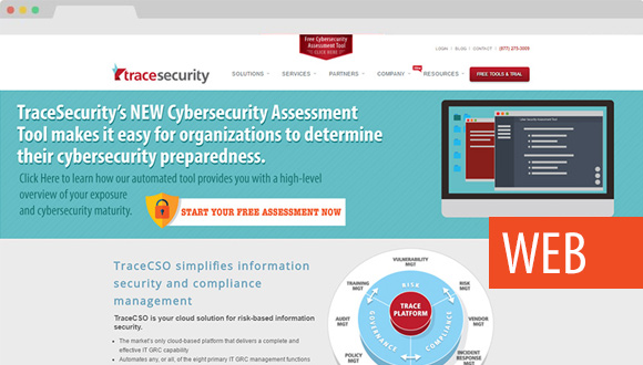 TraceSecurity Website